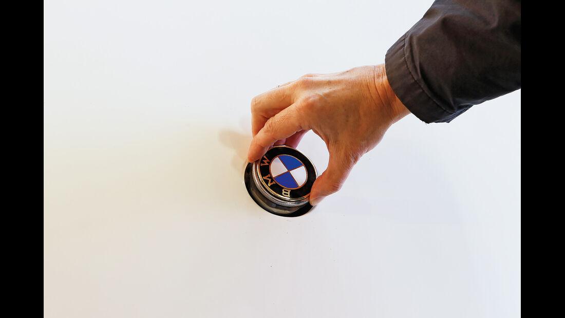 BMW Roadster mit Sonderkarosserie, Emblem