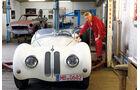 BMW Roadster mit Sonderkarosserie, Frontansicht