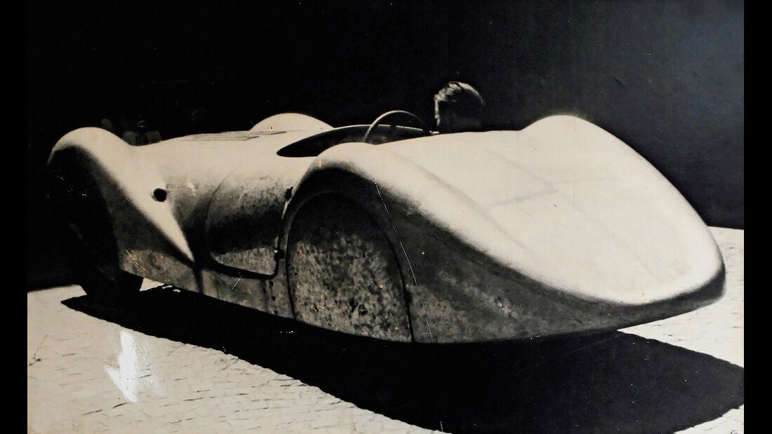 BMW Roadster mit Sonderkarosserie, Heckansicht, 30er-Jahre