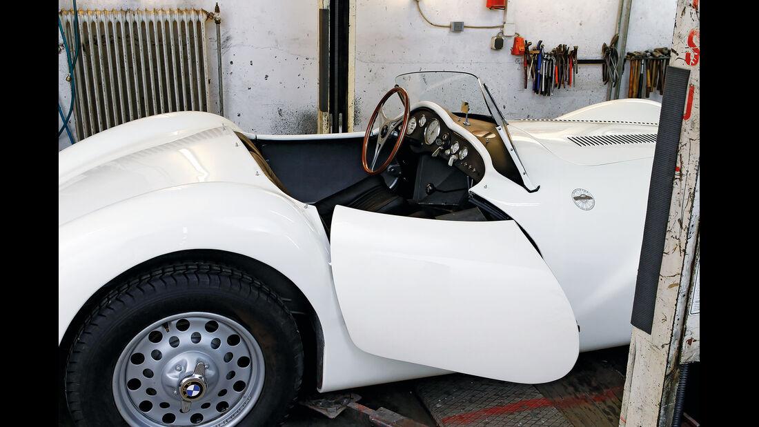 BMW Roadster mit Sonderkarosserie, Seitentür