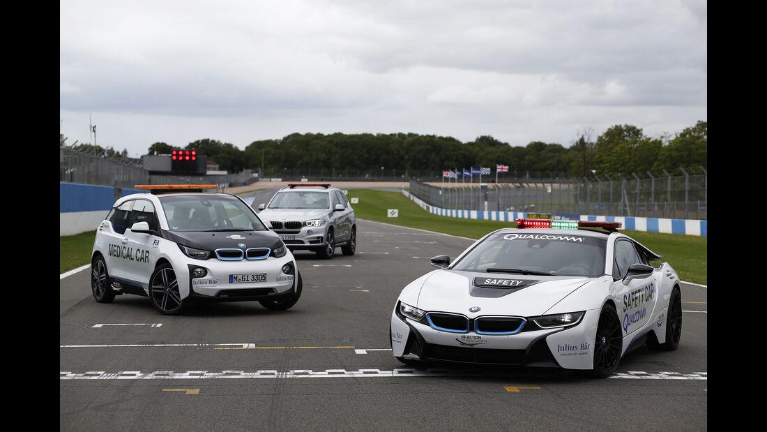BMW Safety-Cars - Formel E 2015