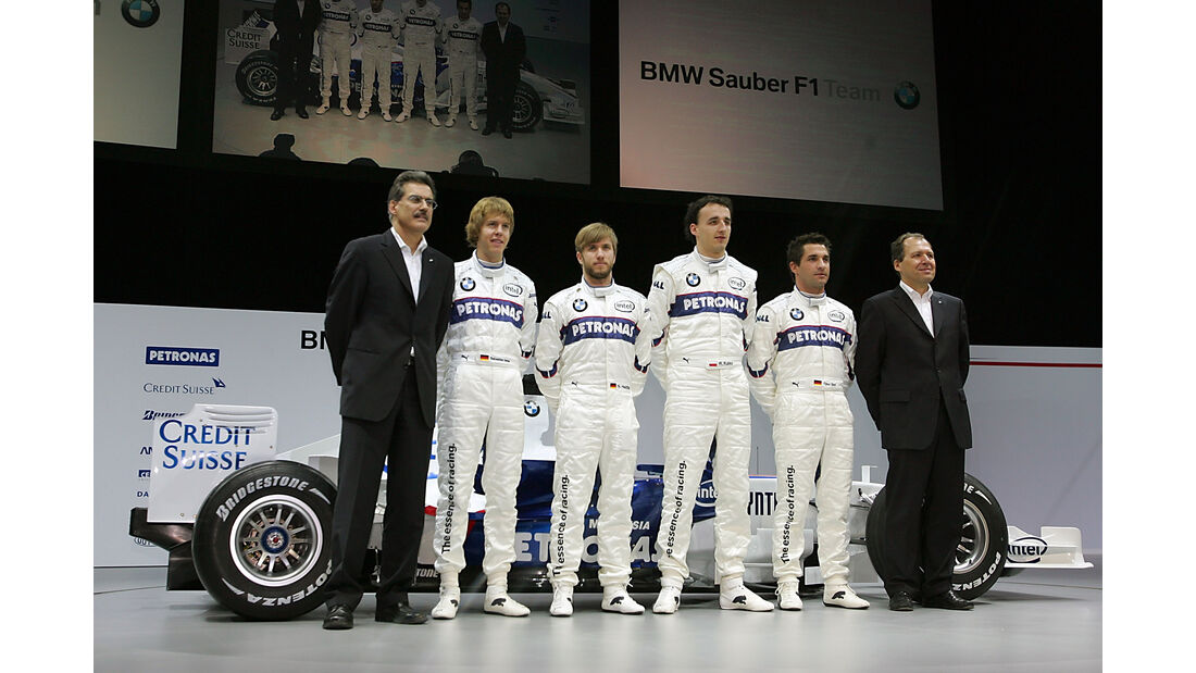 BMW Sauber Launch 2007