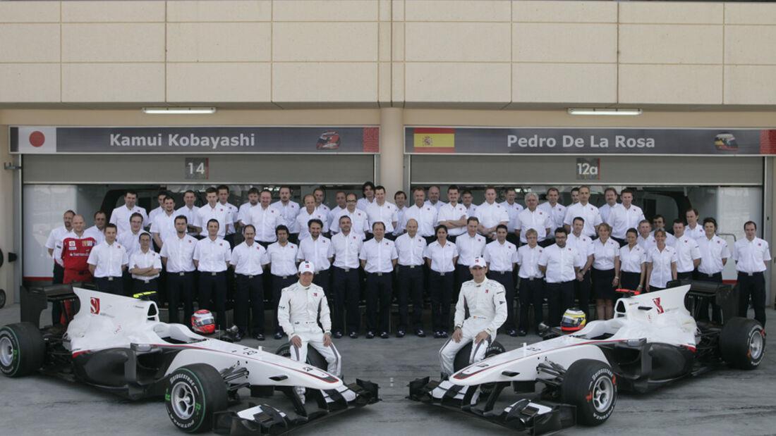 BMW Sauber Teamfoto 2010