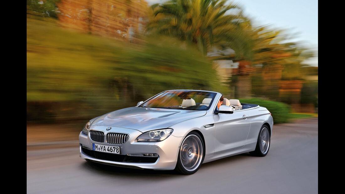 BMW Sechser Cabrio, Frontansicht