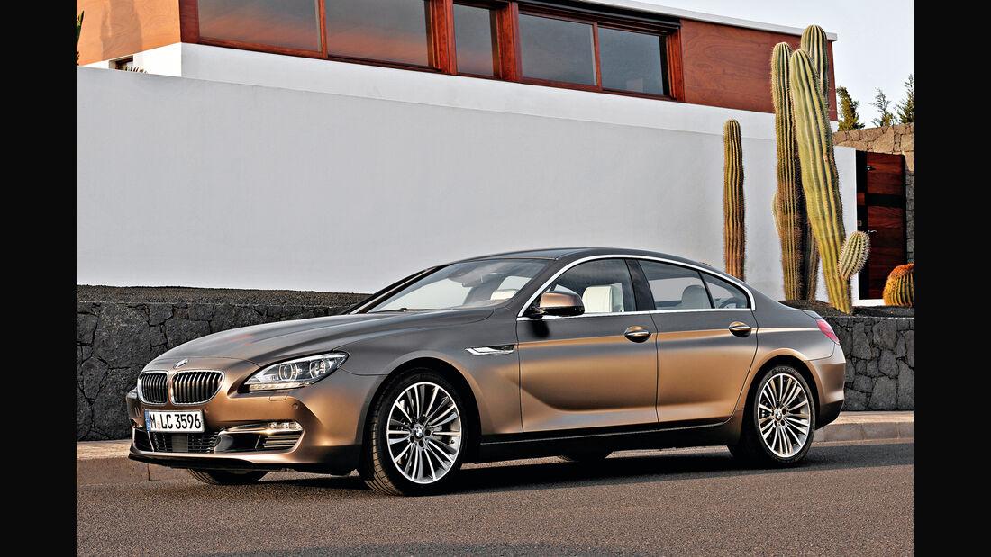 BMW Sechser Grand Coupé, Seitenansicht