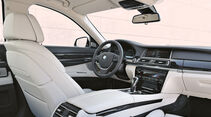 BMW Siebener, Cockpit, Innenraum