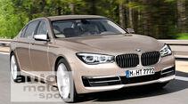 BMW Siebener, Frontansicht