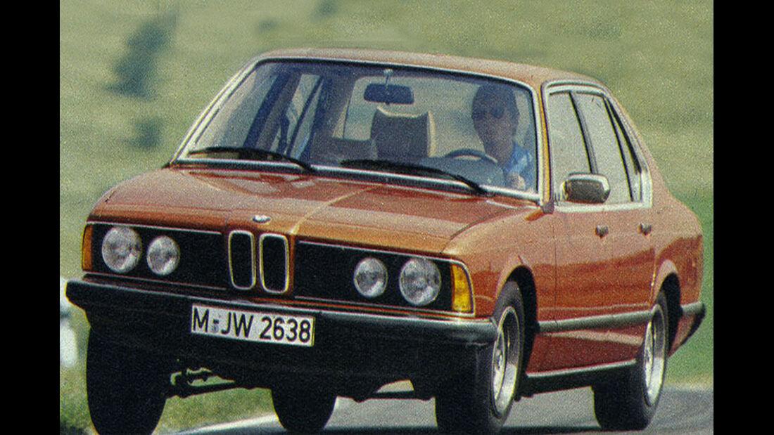 BMW, Siebener, IAA 1977