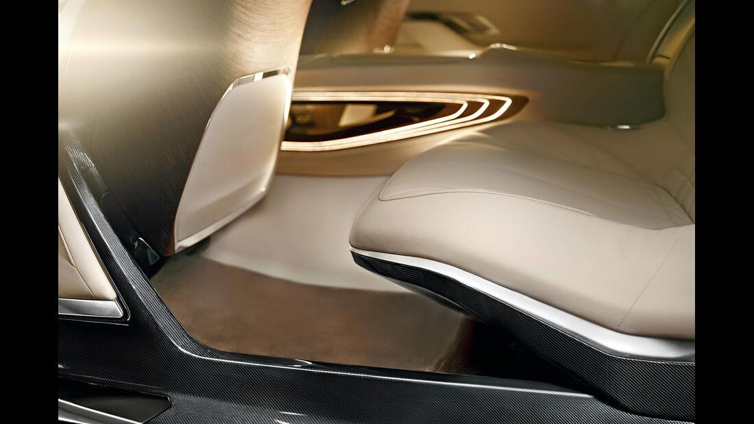 BMW Siebener, Sitze, Interieur