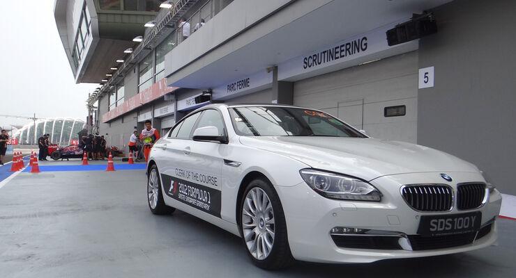 BMW-Streckenfahrzeug - Formel 1 - GP Singapur - 20. September 2012