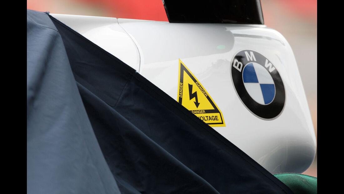 BMW - Test Jerez - 2008 - KERS-Stromschlag