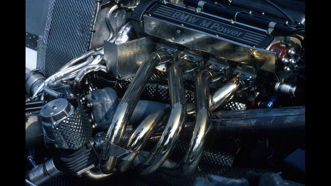 BMW Turbo-Motor Formel 1 1982