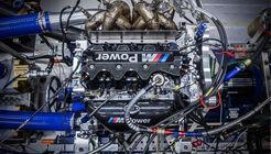 BMW Turbo-Motor - Prüfstand