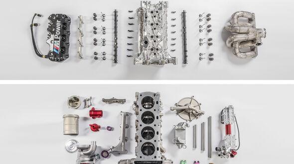 BMW Turbomotor Vierzylinder Tourenwagen Vergleich