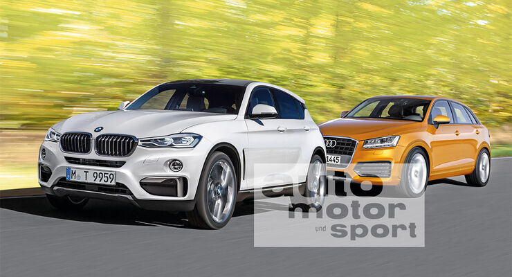 BMW Urban Cross, Audi Q1