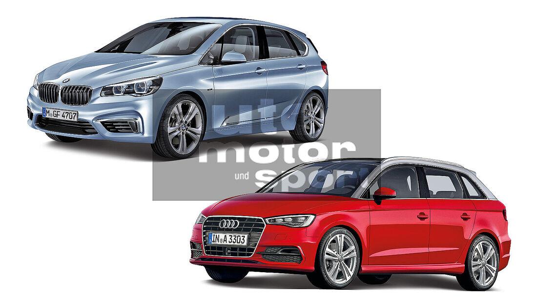 BMW Van, Audi Van