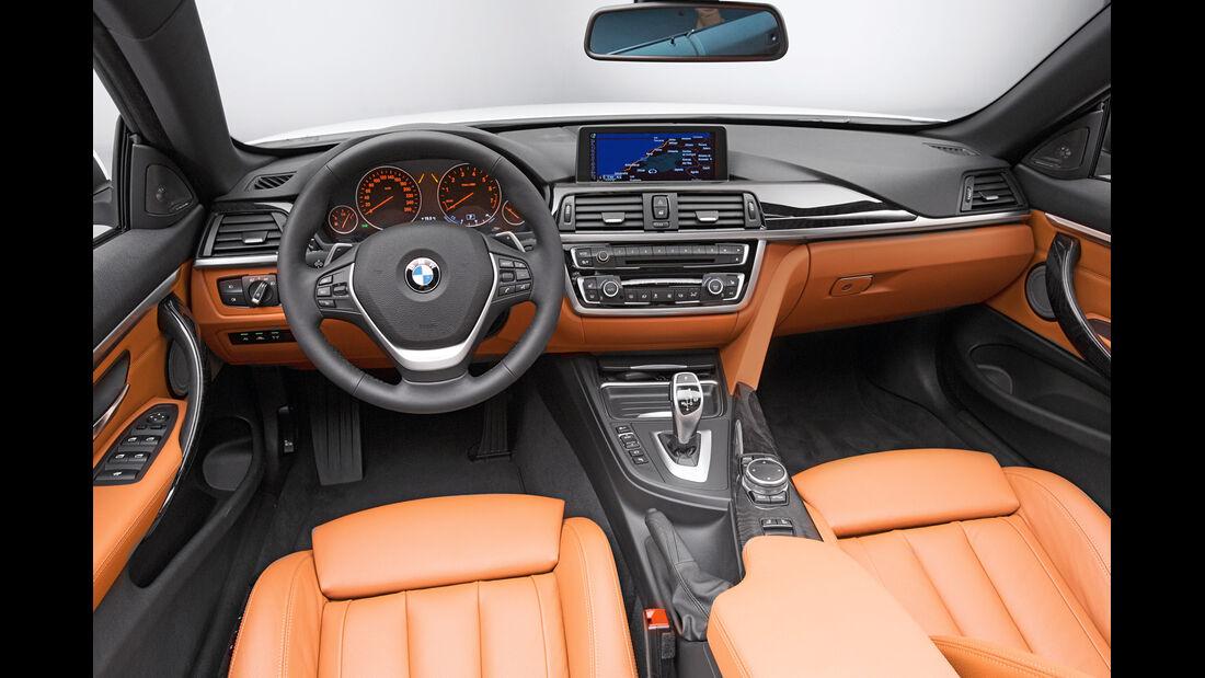 BMW Vierer Cabrio, Cockpit