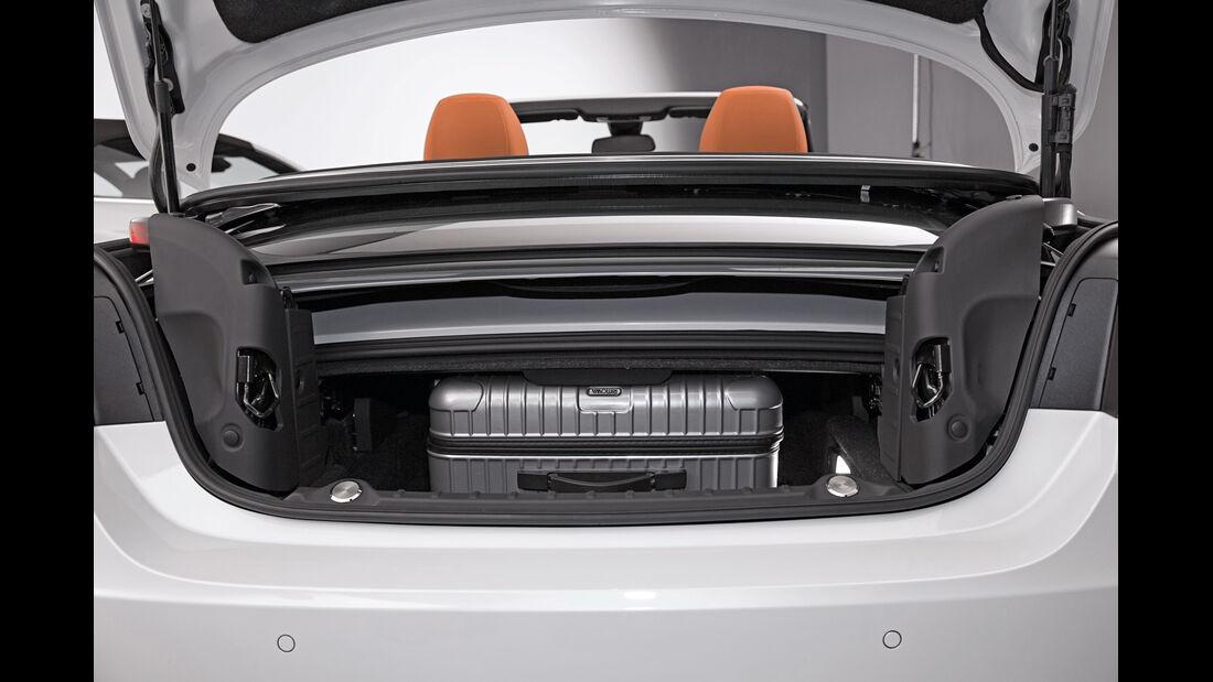 BMW Vierer Cabrio, Kofferraum