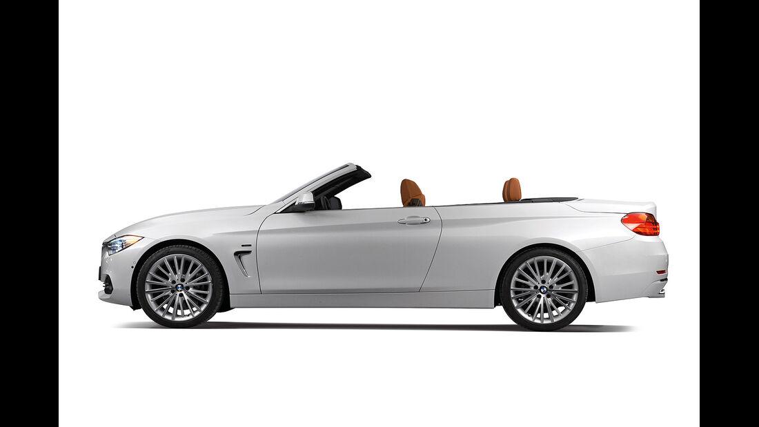 BMW Vierer Cabrio, Seitenansicht