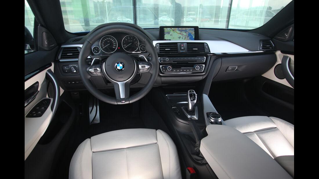 BMW Vierer Gran Coupé, Cockpit