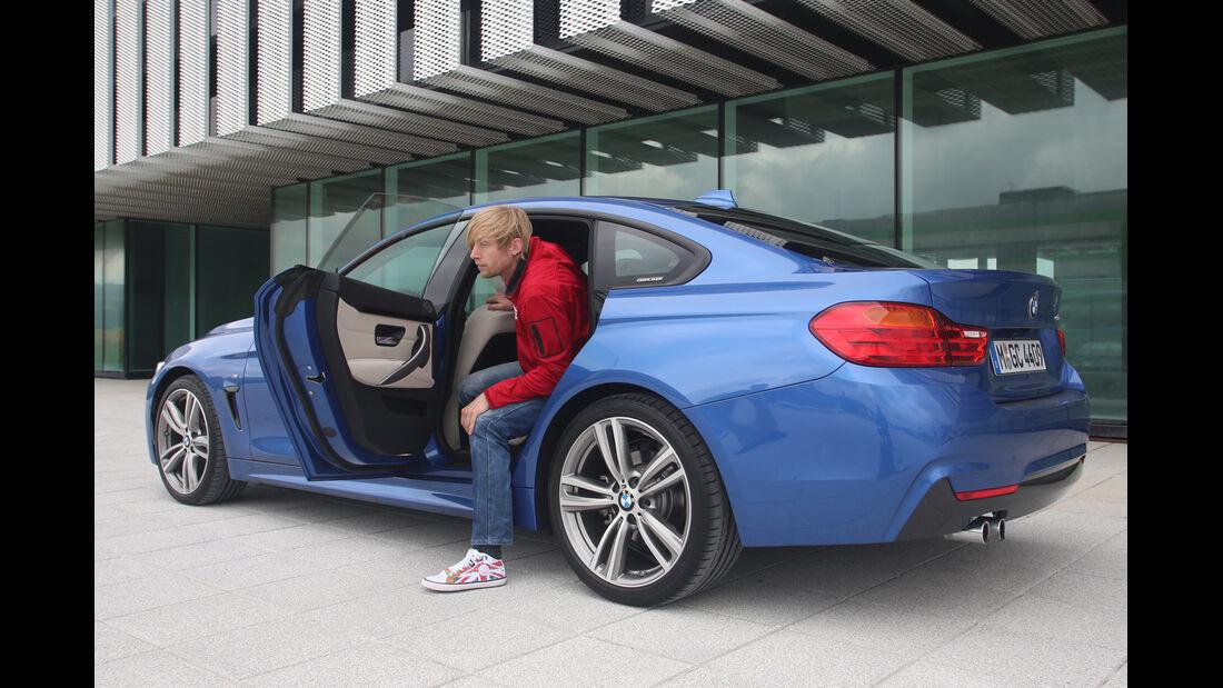 BMW Vierer Gran Coupé, Fondsitz, Aussteigen
