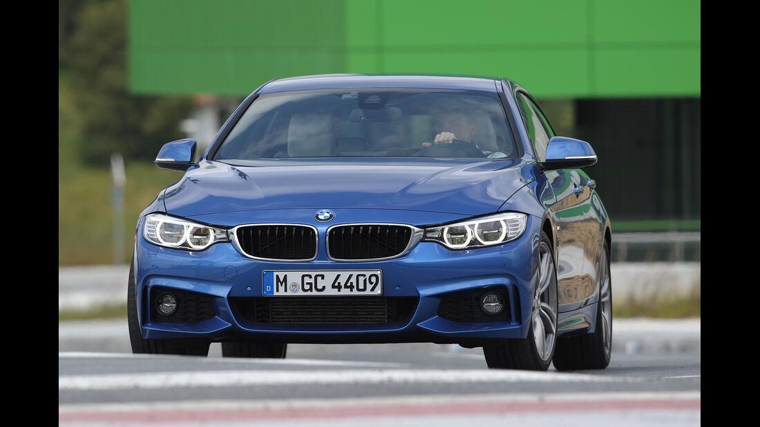 BMW Vierer Gran Coupé, Frontansicht
