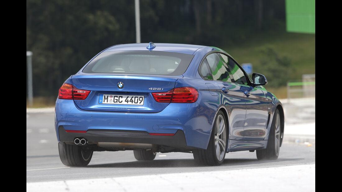 BMW Vierer Gran Coupé, Heckansicht