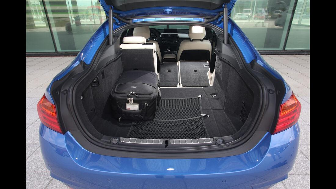 BMW Vierer Gran Coupé, Kofferraum