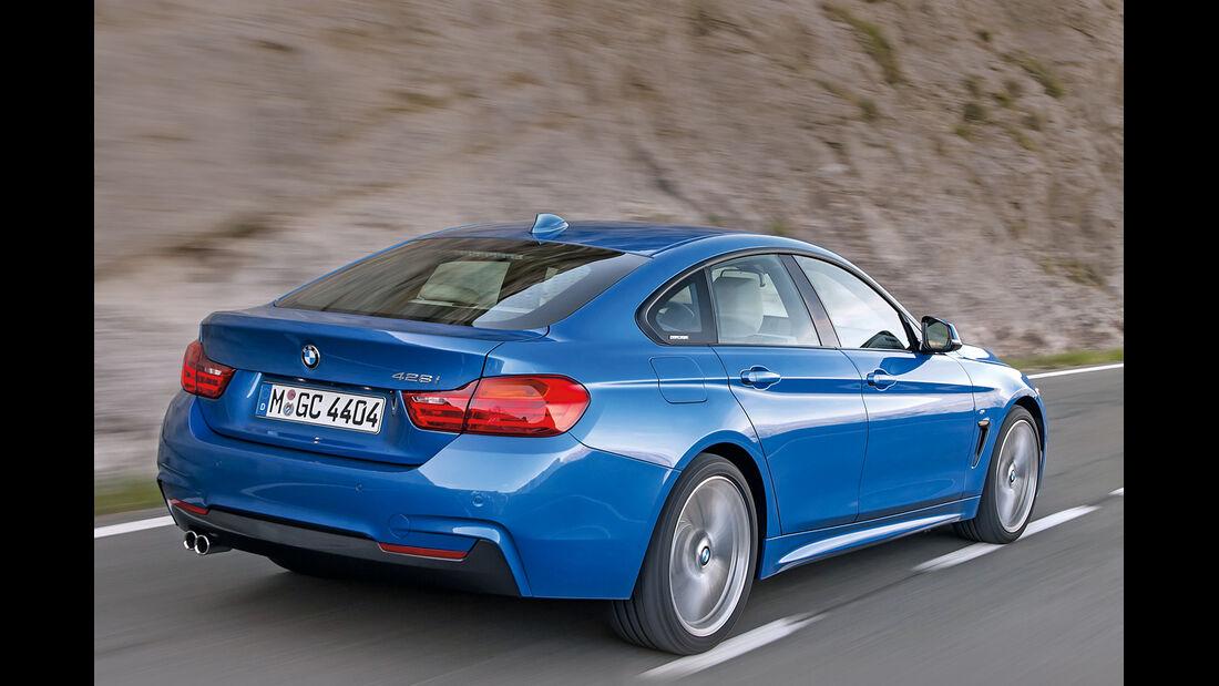 BMW Vierer, Heckansicht