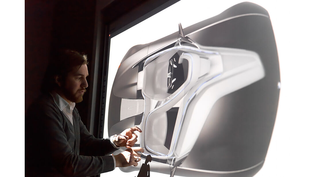 BMW Vision ConnectedDrive, Designstudio