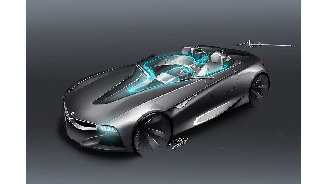 BMW Vision ConnectedDrive, Designzeichnung