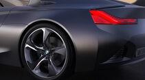 BMW Vision ConnectedDrive, Felge, Heck