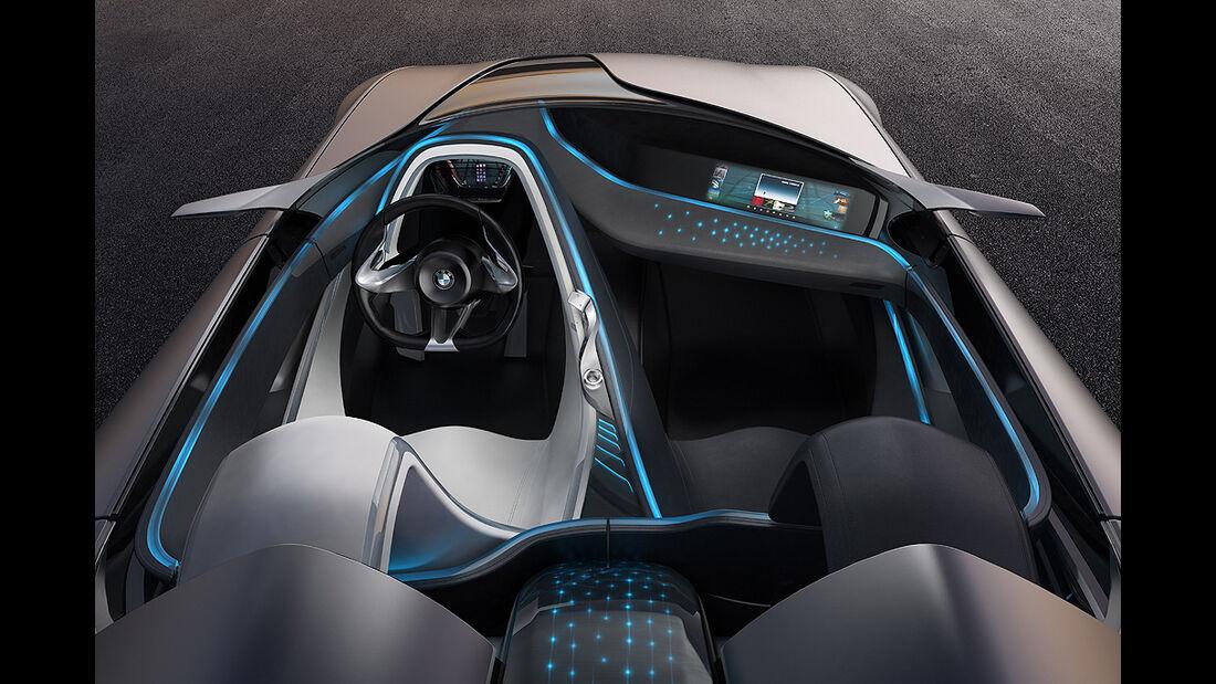 BMW Vision ConnectedDrive, Innenraum, Cockpit