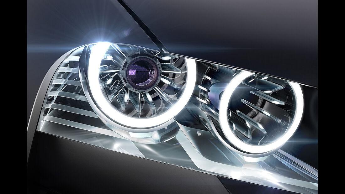 BMW Vision ConnectedDrive, Scheinwerfer