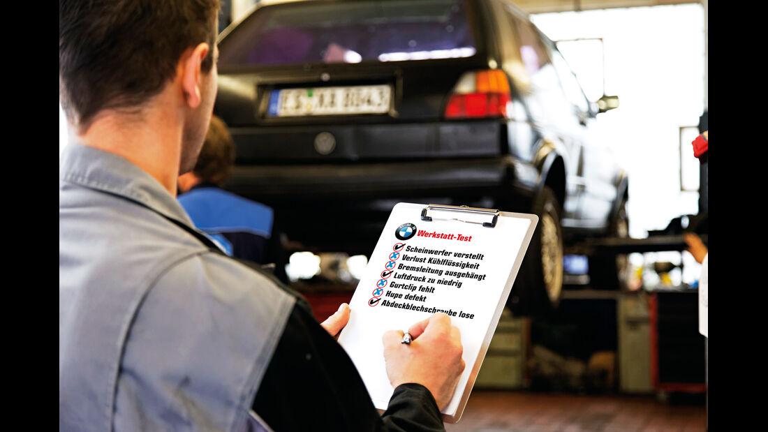 BMW Werkstätten, Mängelliste