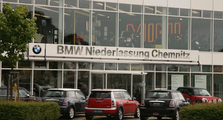 werkst tten test bmw 2009 bmw niederlassung chemnitz. Black Bedroom Furniture Sets. Home Design Ideas
