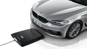 BMW Wireless Charging induktives Laden