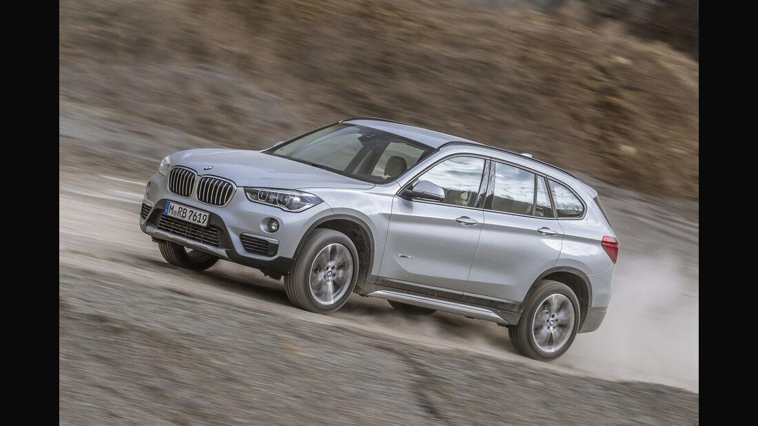 BMW X1 18d sDrive, Frontansicht