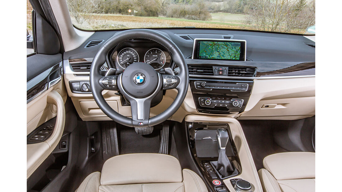 BMW X1 18d sDrive, Innenraum