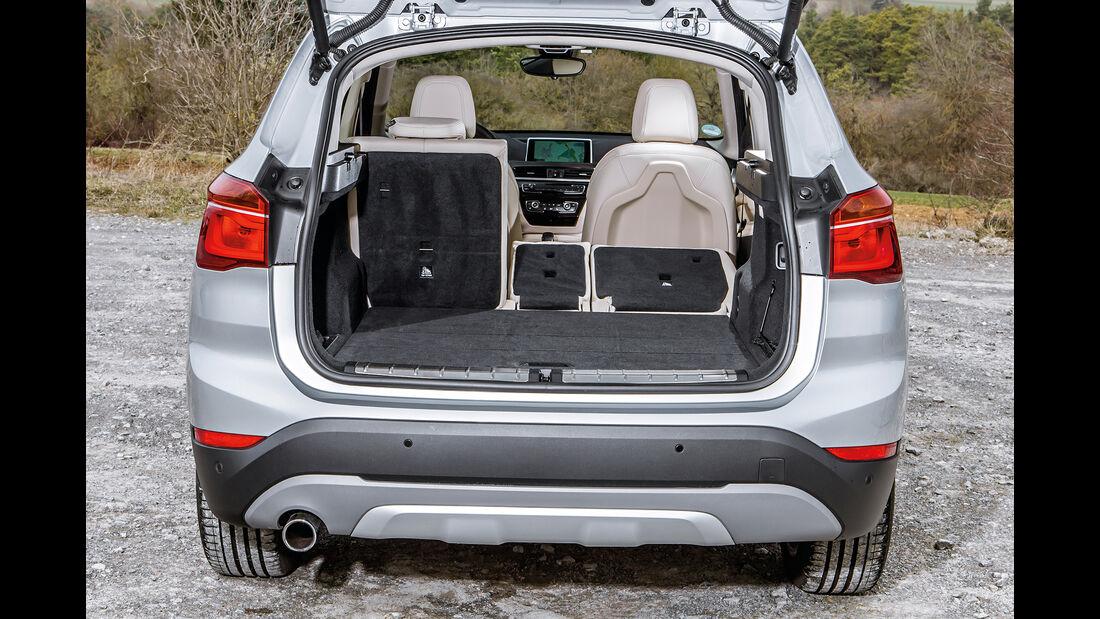 BMW X1 18d sDrive, Kofferraum