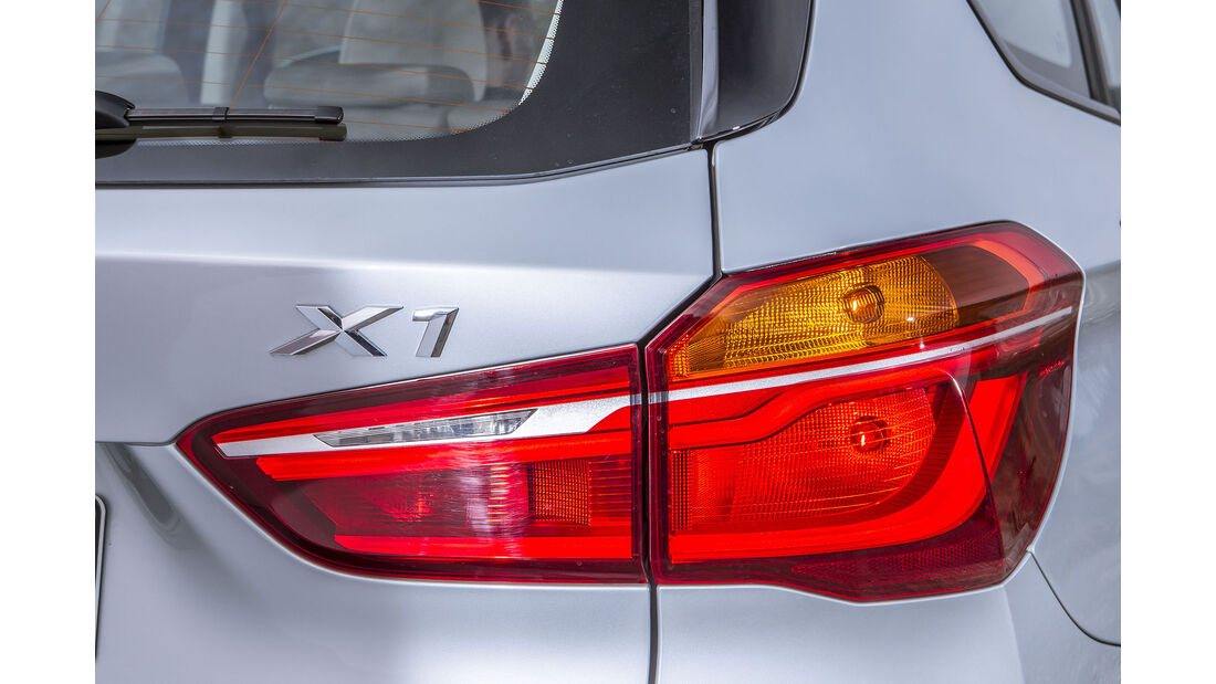 BMW X1 18d sDrive, Rückleuchte