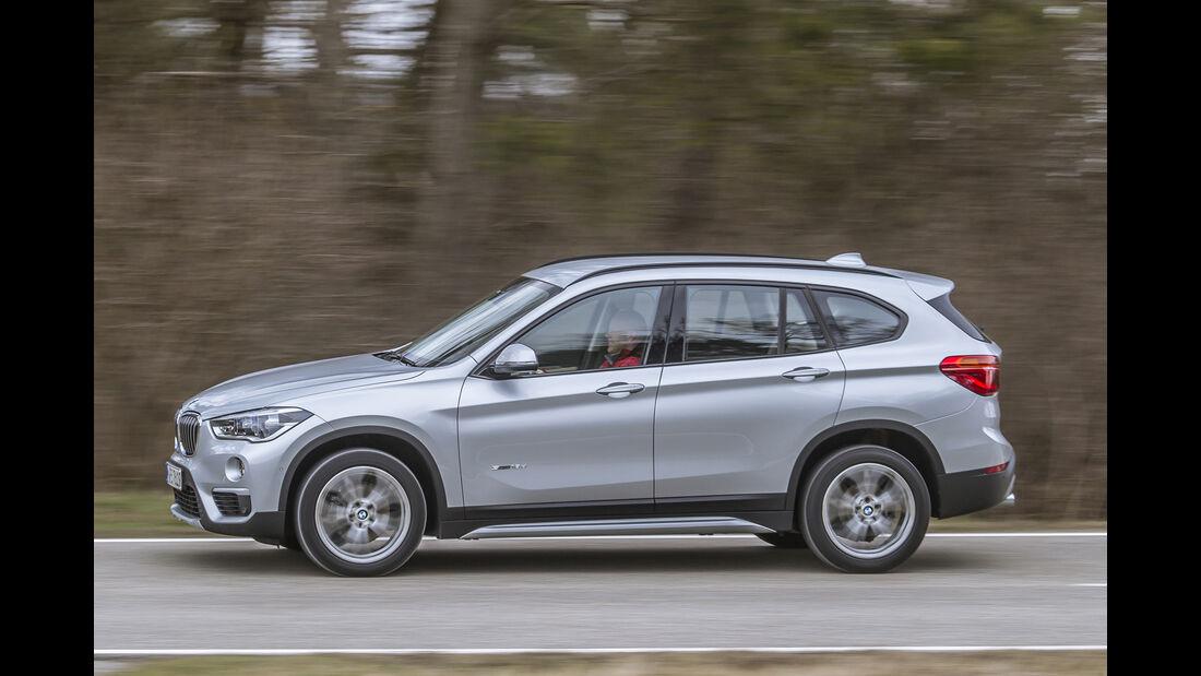BMW X1 18d sDrive, Seitenansicht