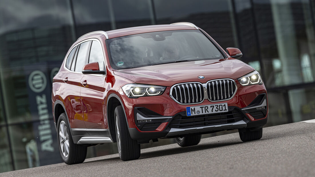 BMW X1 20d, Exterieur