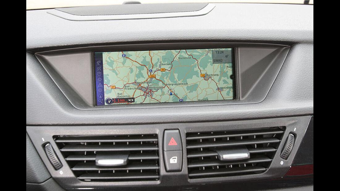 BMW X1 20d x-Drive,Navigationsgerät