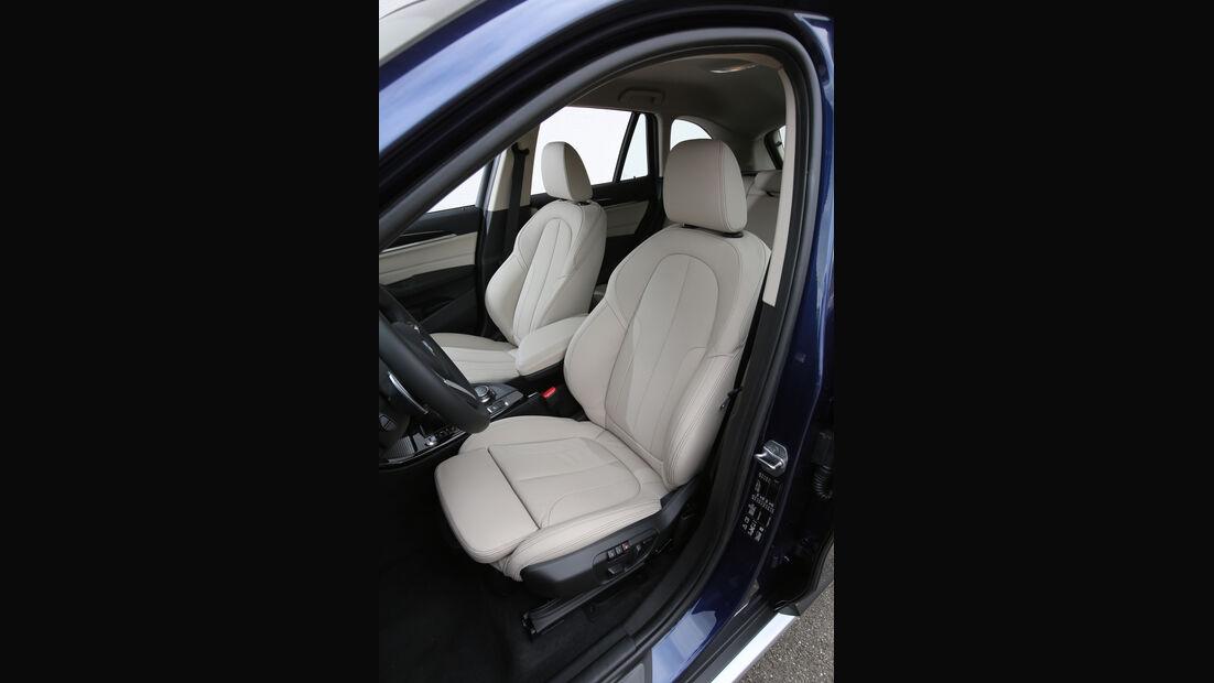 BMW X1 20d xDrive, Fahrersitz