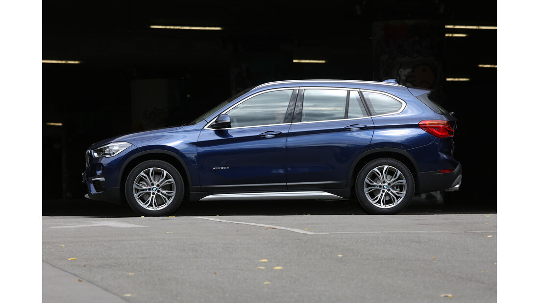 BMW X1 20d xDrive, Seitenansicht