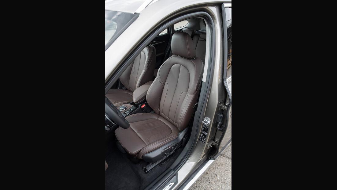 BMW X1 20i xDrive, Fahrersitz