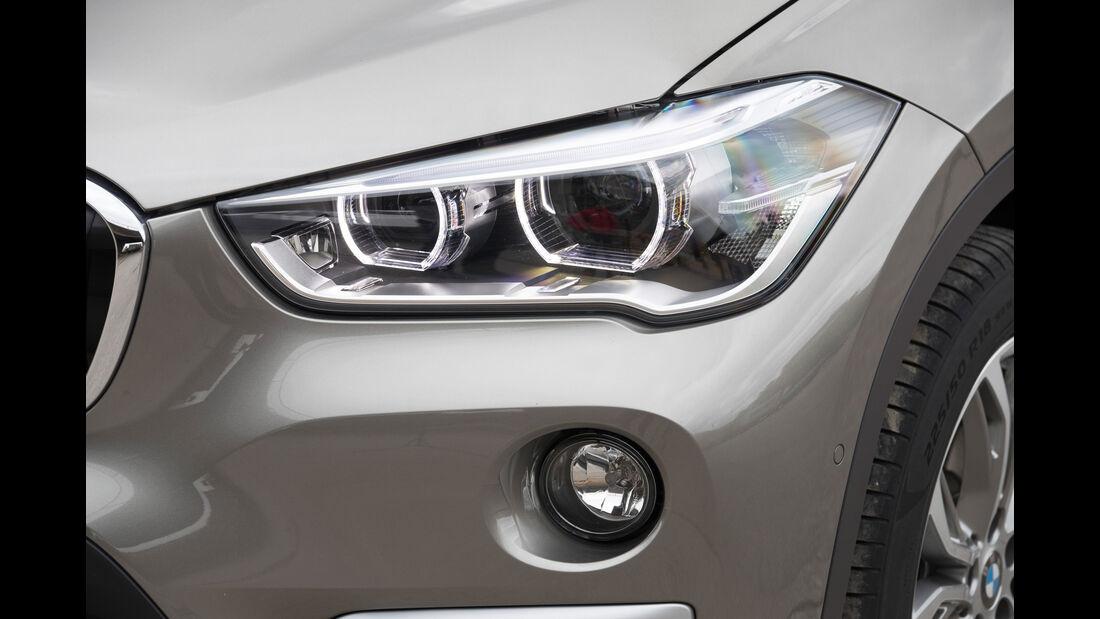 BMW X1 20i xDrive, Frontscheinwerfer