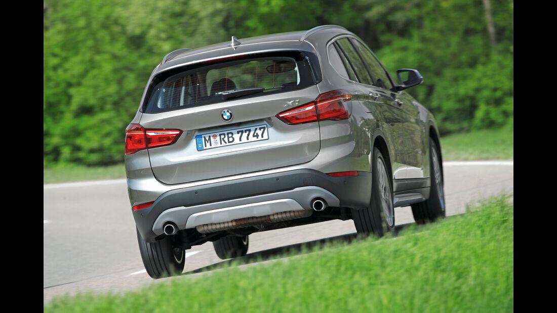 BMW X1 20i xDrive, Heckansicht