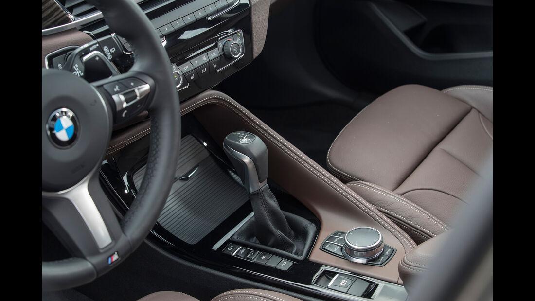 BMW X1 20i xDrive, Mittelkonsole